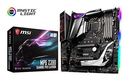 MSI MPG Z390 GAMING PRO CARBON ATX ゲーミングマザーボード [Intel Z390チップセット搭載] MB4613