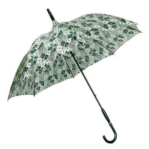 【ANNA SUI】アナスイ 日本製 フラワーデザイン婦人長傘(雨傘) 明緑