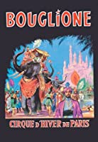 "Bouglione–Cirque d 'hiver de Paris Fineアートキャンバス印刷(20"" x30"")"
