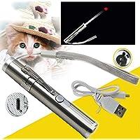 ペンライト 猫 玩具 ペットおもちゃ スティック USB充電 トレーニング 運動不足やストレス解消 ダイエット