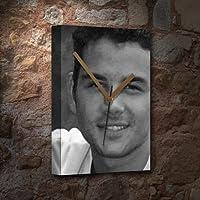 RYAN THOMAS - キャンバス時計(LARGE A3 - アーティストによる署名入り) #js002