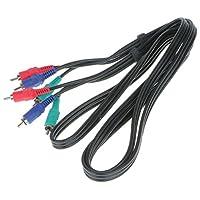 gazechimp 3 RCAコンポーネントグリーン ブルー レッド YPbPr HDビデオケーブルコードアダプター HDテレビ用
