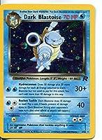 Pokemon Team Rocket Holofoil Card #3/82 Dark Blastoise