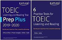 TOEIC Prep Set: 2 Books + Online (Kaplan Test Prep)