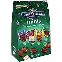 Ghirardelli Christmas Assorted Holiday Minis 340g ギラデリクリスマス盛り合わせホリデーミニホリデーアソートメントチョコレート1袋 [並行輸入品]