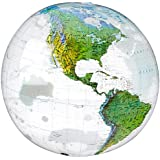 [スモールワールドカップ]Small World Science Small World Toys Nature Inflatable Topographical Globe, 16 9726110 [並行輸入品]