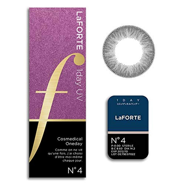 無限大誰か不確実LaFORTE 1day UV (ラフォルテ ワンデーUV) 30枚入 2箱 【カラー】:No.4パールブラック 【DIA(直径)】:14.2mm 【BC(ベースカーブ)】:8.6 【PWR(度数)】:-2.75