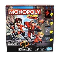 Monopoly Junior Game : Disney Incredibles 2 Edition モノポリージュニアゲーム ディズニー・インクレディブルズ2版英語版 [並行輸入品]