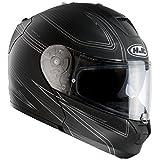 HJC(エイチジェイシー)バイクヘルメット フルフェイス ブラック(MC5F) L(59-60) アルファ マックス エボ フリート HJH073
