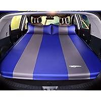 YJH+ アウトドアSuv一般的な自動インフレータのカーベッドインフレータブルベッドエアベッド旅行ベッドカーショックベッド寝パッドマットレス 美しく、寛大な ( 色 : BlueB )