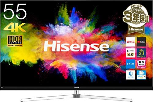 55型テレビのおすすめ人気比較ランキング10選【最新2020年版】のサムネイル画像