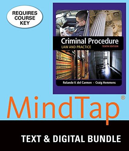 Download Criminal Procedure: Law and Practice 1337127922