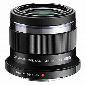 OLYMPUS 単焦点レンズ M.ZUIKO DIGITAL 45mm F1.8  ブラック