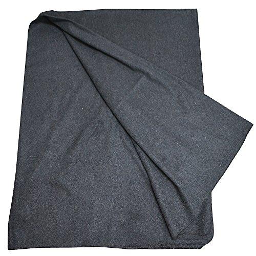 (ロスコ ) Rothco 70% VIRGIN WOOL BLANKETS 10149 10231 ブランケット カーキ/ブラック/ネイビー 大判 薄手 ウール ミリタリー (GREY) [並行輸入品]