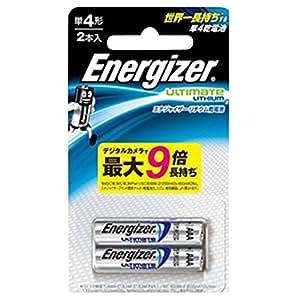 シックジャパンEnergizer シック・ジャパン エナジャイザー リチウム乾電池 単4形 2本入 FR03ELU-2BP