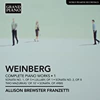 Complete Piano Works 1 by M. Weinberg (2012-03-27)