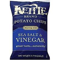 ケトル シーソルト&ビネガー 241g 8.5oz 【Kettle Potato Chips Sea salt & Vinegar】