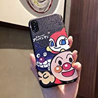 アンパンマン Phone8ケース iPhone X ケース iPhone専用ケース 防塵 携帯カバー かわいい (iPhone X/iPhone XS)
