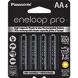 Panasonic Eneloop Pro Rechargable Battery, AA4, 4 Count