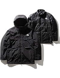 [ノースフェイス] メンズ フォーバレルトリクライメイトジャケット Fourbarrel Triclimate Jacket ブリティッシュカーキ NS61904 BK