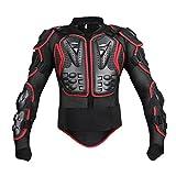 Vectri オートバイプロテクター レーシングプロテクター 上半身保護 肩、胸 、背中、 腰、 肘のガード EVA 耐衝撃 メッシュ構造 通気 バイク用