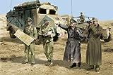 ドラゴン 1/35 ロンメル将軍と幕僚 北アフリカ1942 プラモデル