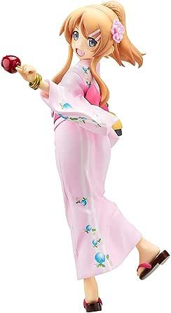 俺の妹がこんなに可愛いわけがない。 高坂 桐乃 浴衣Ver. 1/8スケール PVC製 塗装済み完成品フィギュア