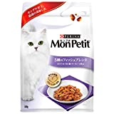 モンプチ バッグ 成猫用 5種のフィッシュブレンド まぐろ・かつお・鯛・サーモン・小魚味 600g [キャットフード・ドライ]