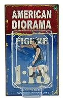 1/18 American Diorama Hotrodders Derek ホットロッドカーを指さす男 男性 フィギュア 模型