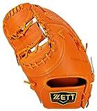 ZETT(ゼット) 野球 硬式 ファースト ミット プロステイタス (左投げ用) BPROFM23 オレンジ