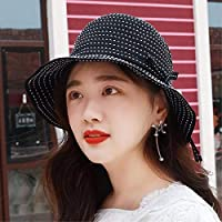 Chuiqingwang 夏には空のトップ迷彩野球帽の男性と女性の普遍的な屋外シェード日よけ帽子に乗って帽子ネクタイキャップ (Color : ブラック, サイズ : M)