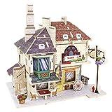 【Robotime 】3D立体パズル 木製パズル World Style Series‐イギリス おもちゃ 知育玩具 パズル プレゼント 子供の創造性を育てる 4種 (イギリス紅茶屋)