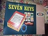 ヴィンテージ1961Ideal Sevenキーボードゲームに基づいてABC TV Show