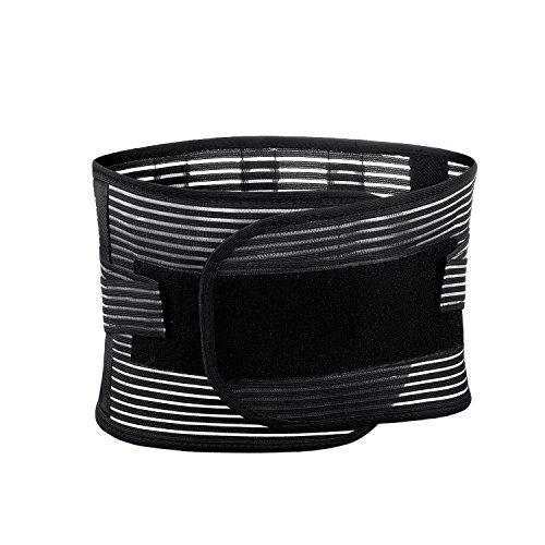 EasyJoy 3DサポートベルトPRO 腰サポーター 骨盤ベルト 腰用 ベルト 腰 プロテクター コルセット 腰用サポーター メッシュ素材 伸縮性あり 腰痛ベルト 男女兼用 (Medium)