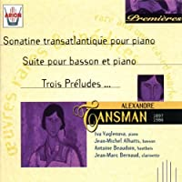 Sonatine Transatlantique Pour Piano by Alexandre Tansman (2013-05-03)