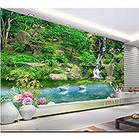Wuyyii 3Dの壁紙カスタム壁画の不織3D空間の壁紙絵のような風景のテレビの設定の壁の写真3Dの壁の壁画の壁紙