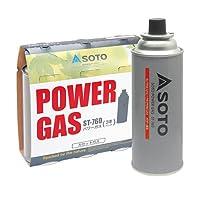 (ソト)SOTO soto-027 カセットガス/SOTOパワーガス 3本パック ST-7601