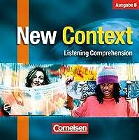 New Context. Bayern. 3 Text-CD's: Texte zur Schulung des Hoerverstehens. Sekundarstufe II
