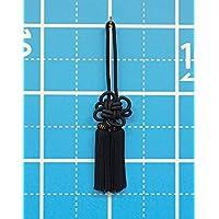 房3寸_黒(国産)(約9~10cm)およそ25cm(全長)