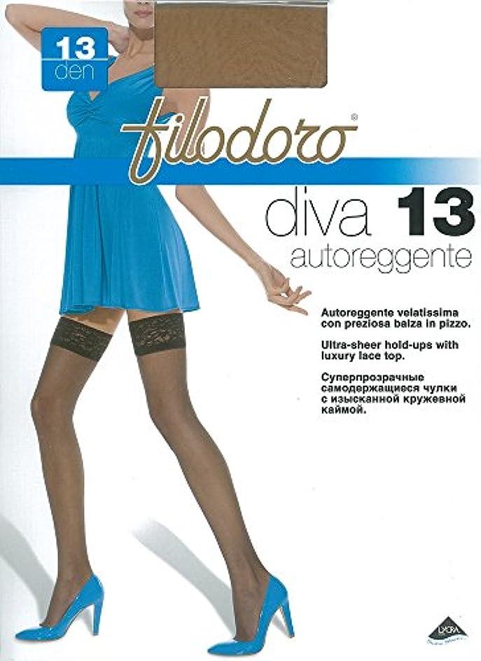 良性女優ニュージーランドFilodoro diva シリコンストッパー付ストッキング (Mサイズ)
