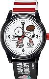 [シチズン Q&Q] 腕時計 キューアンドキュー スマイルソーラー PEANUTS BRAVE BLOSSOMS ラグビー 日本代表 トリプルコラボレーション モデル 500本 限定 10気圧防水 ウレタンベルト RP26J803 マルチカラー