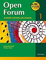 Open Forum Level 1 Student Book (Open Forum Series)