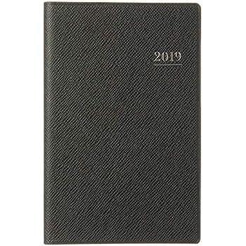 能率 NOLTY 手帳 2019年 ウィークリー ライツマンスリー 小型版 ダークネイビー 1180 (2019年 1月始まり)