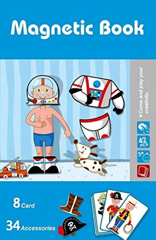 chusea Interesting Kids Toyクリエイティブ木製磁気教育パズル初期学習数図形カラー動物おもちゃFantastic Gifts for Kids (ジョブ変更)