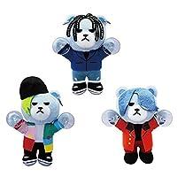 BIGBANG KRUNK FXXK IT 吸盤付きぬいぐるみ 2 全3種セット G-DRAGON SOL D-LITE