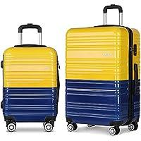 Wanderlite Luggage Suitcase Trolley Set TSA Travel Carry On Bag Hard Case Lightweight