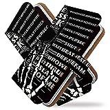 KEIO ケイオー HUAWEI Mate 20 lite カバー 手帳型ケース ガイコツ huaweimate10lite スマホケース ドクロ HUAWEI Mate 20 lite ケース 手帳型 スカル ロック ブラック ファーウェイ メイト トゥエンティー ライト ittnスカルロックブラックt0729