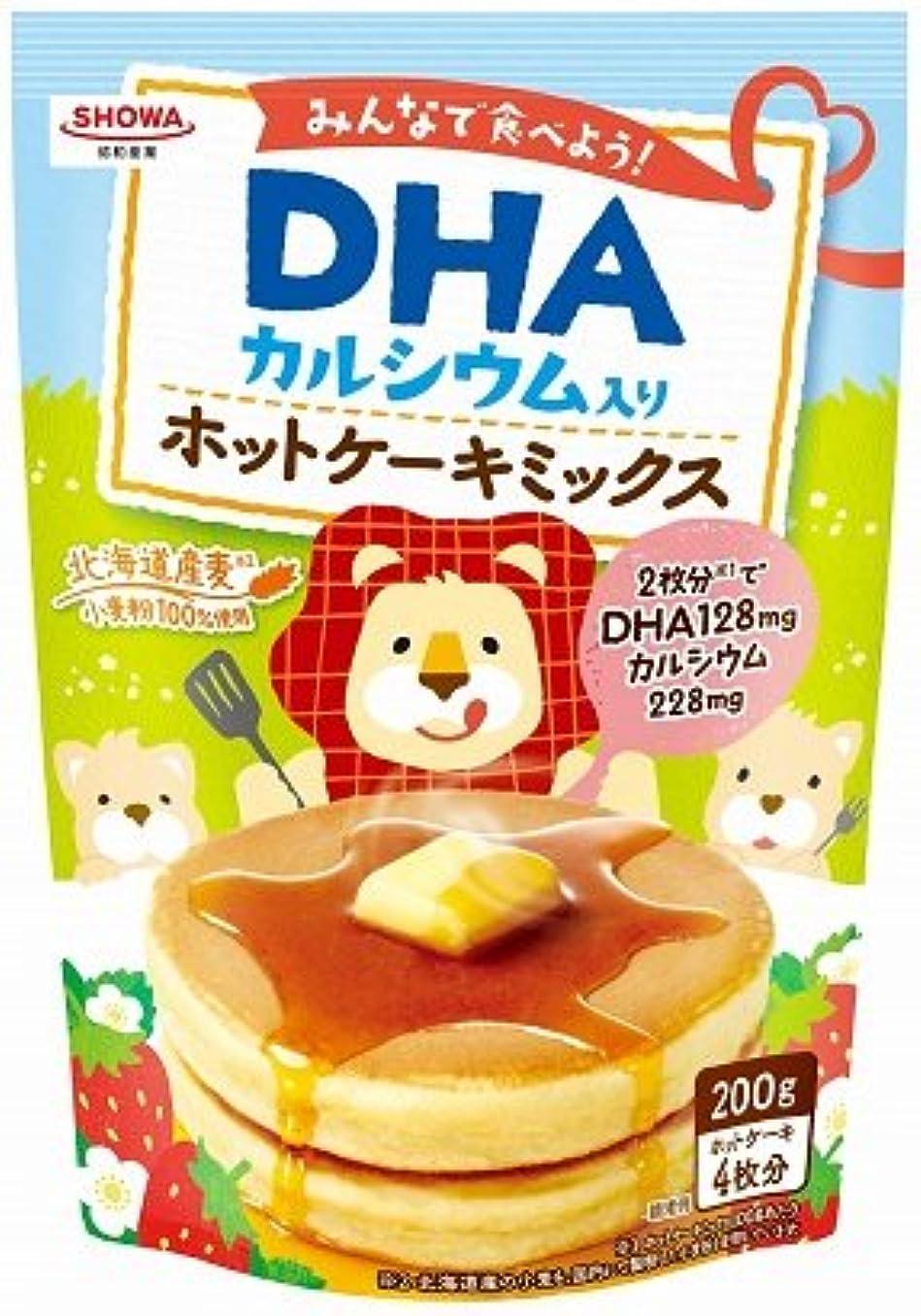首謀者階フィラデルフィア昭和(SHOWA) DHAホットケーキミックス 200g【4個セット】