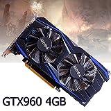 コンピュータビデオゲーム128bit PCI - ExpressビデオグラフィックカードNvidia Geforce gtx9604GB gddr5グラフィックスと冷却ファン