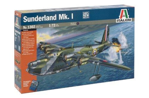 タミヤ イタレリ 1/72 飛行機シリーズ 1302 ショート サンダーランド Mk.I 飛行艇 38302